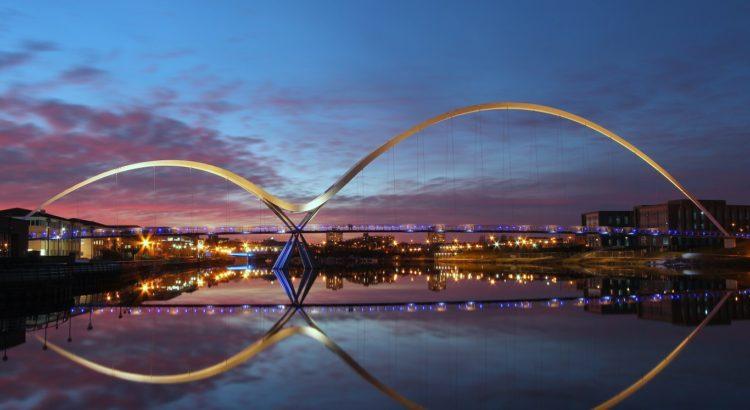 The Infinity Bridge, Stockton-on-Tees by Steven Iceton