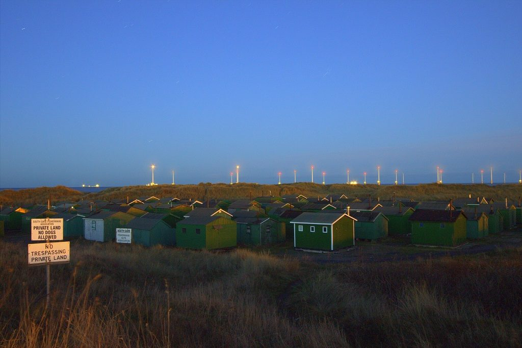 Fishermen's huts, Paddy's Hole, South Gare