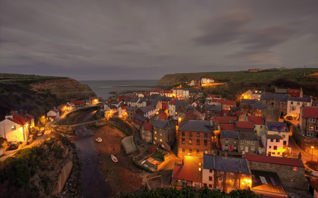 Staithes, North Yorkshire.