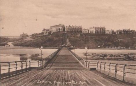 Saltburn Pier Postcard 1911