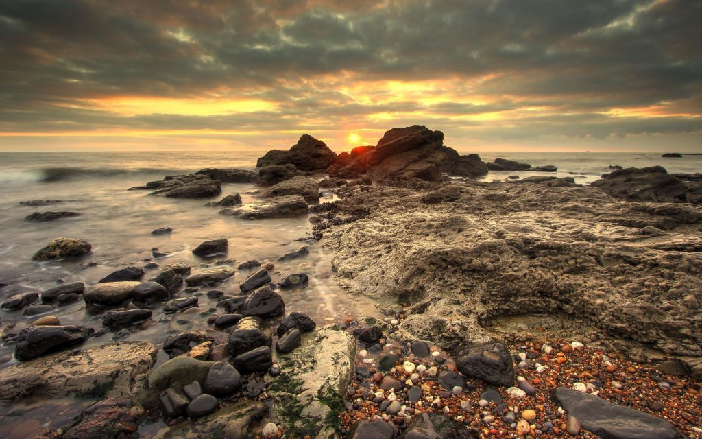 Sunrise Seaham Chemical Beach