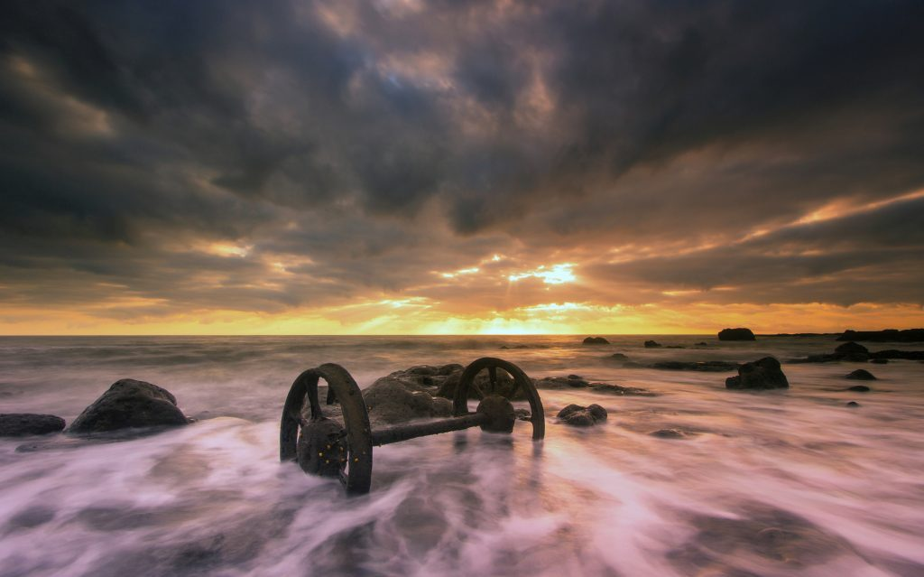 Sunrise Seaham Chemical Beach Wheels Dawdon