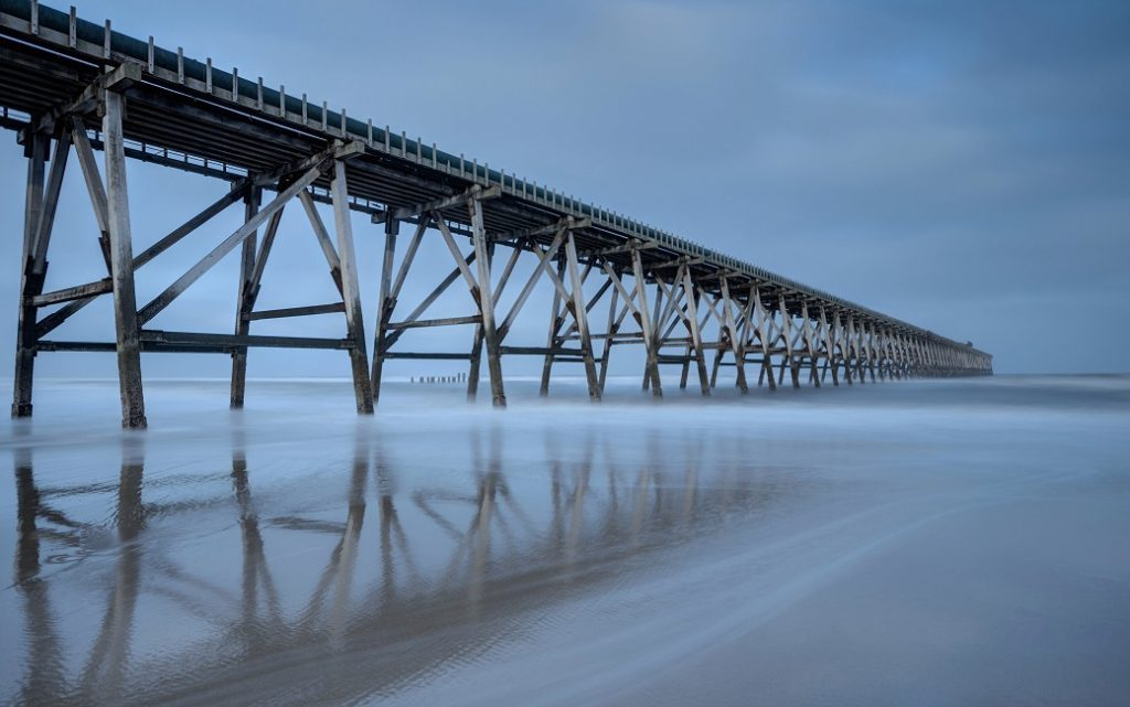 Steetley Pier - Long Exposure