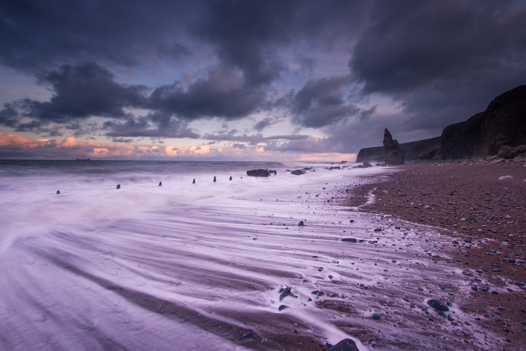 Chemical Beach Seaham Blue Hour