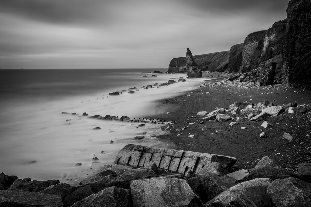 Chemical-Beach-Seaham-Long-Exposure