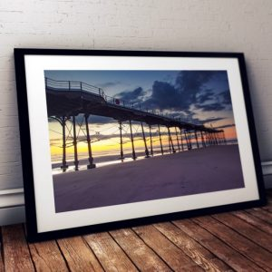 Saltburn-Pier-Sunset-Afterglow