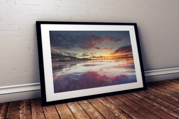 Saltburn Pier Sunset