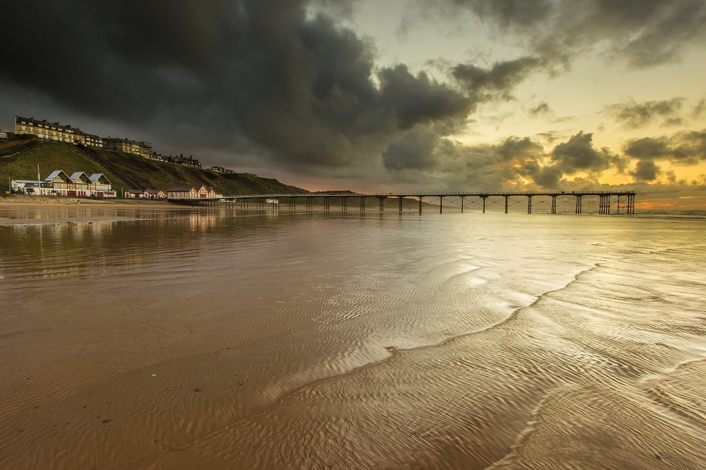 Saltburn Pier Sunset