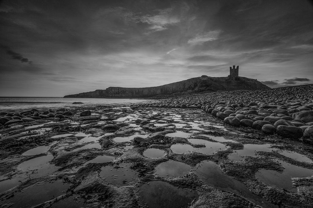 Dunstanburgh Castle Mono