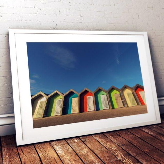 Blyth Beach Huts, Northumberland