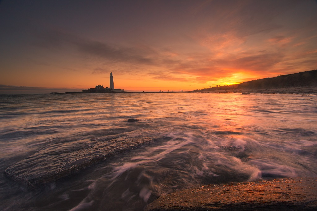 St Mary's Lighthouse Sunrise