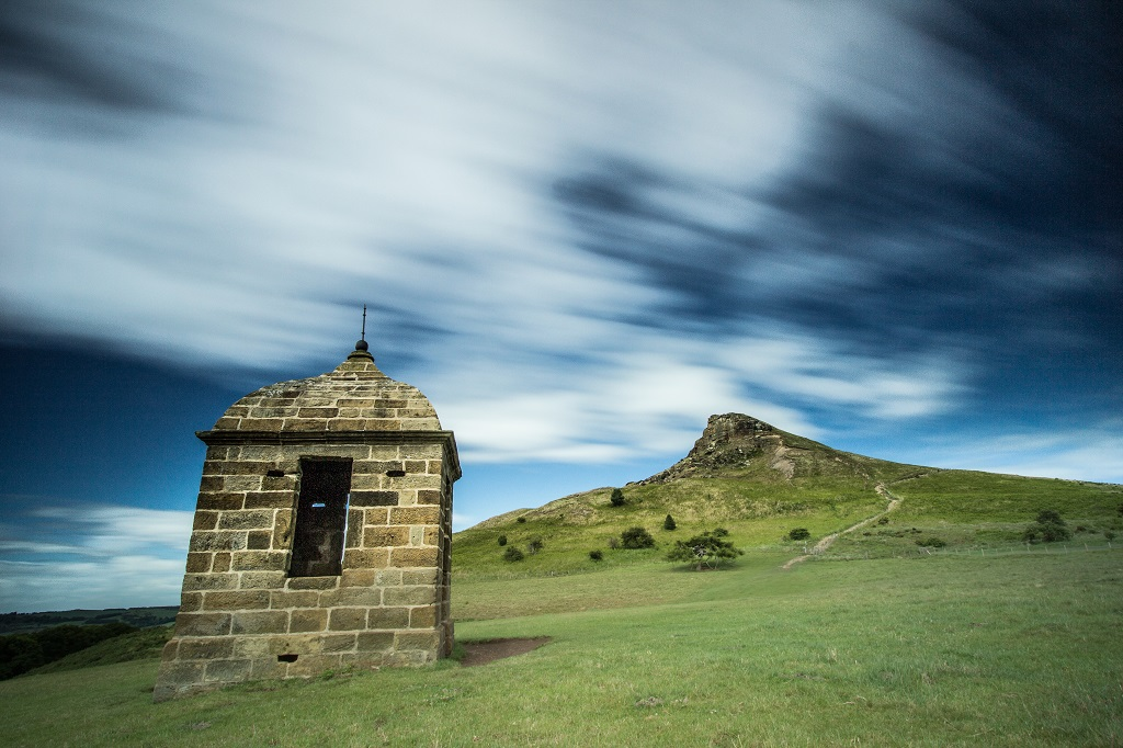 The Shooting Box at Roseberry Topping.