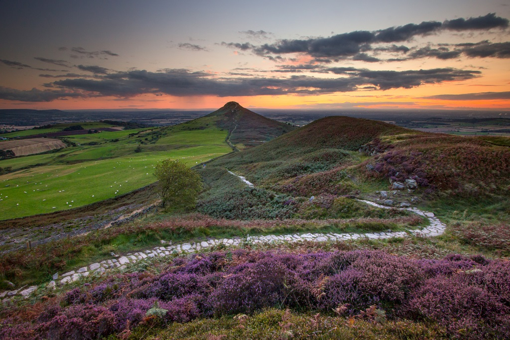 Little Roseberry Sunset, North York Moors