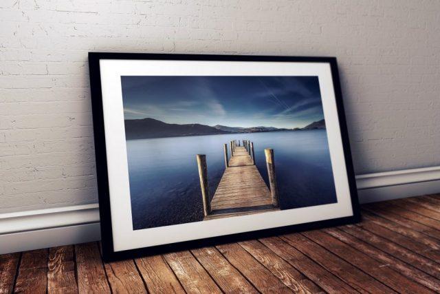 Derwentwater Ashness Jetty, Lake District, England.