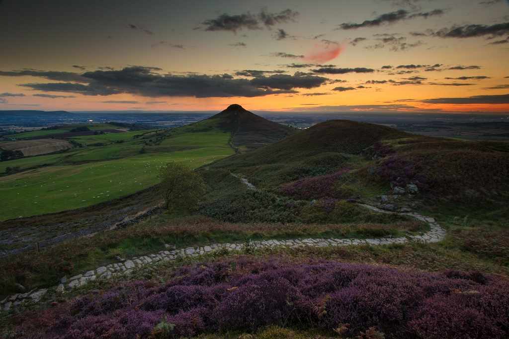 Little Roseberry Sunset
