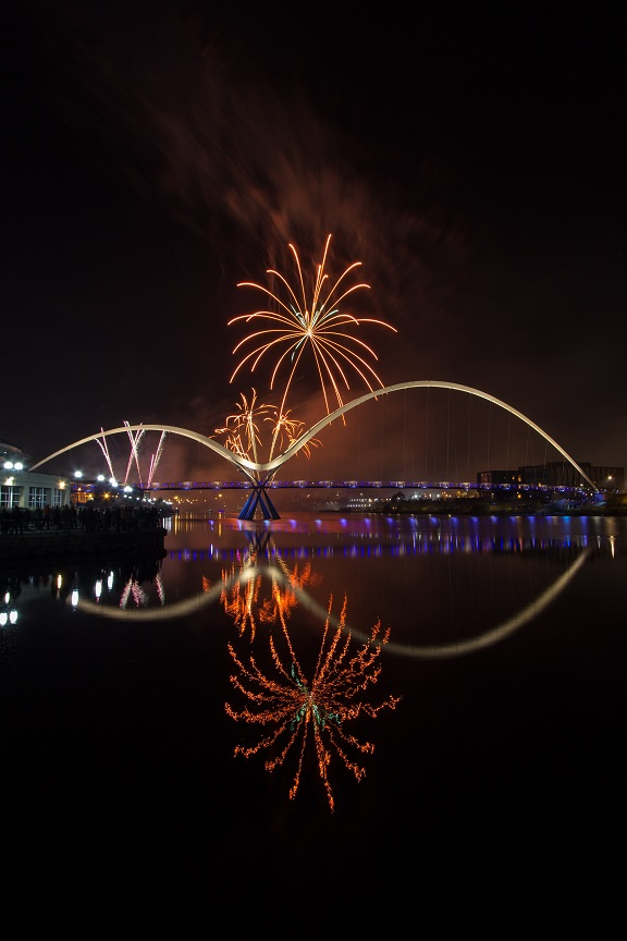 Bonfire Night at Stockton-on-Tees Guy Fawkes Fireworks