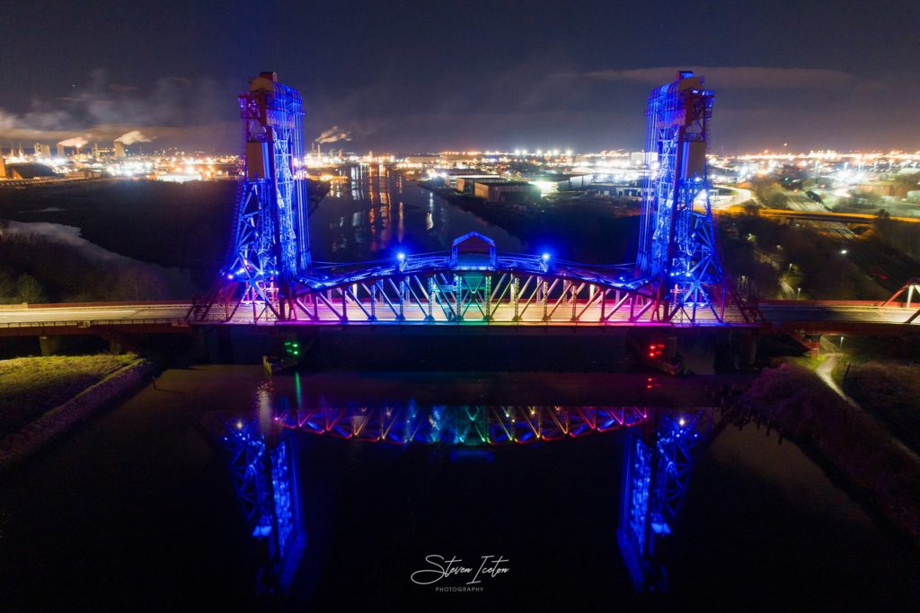 Newport-Bridge-Drone