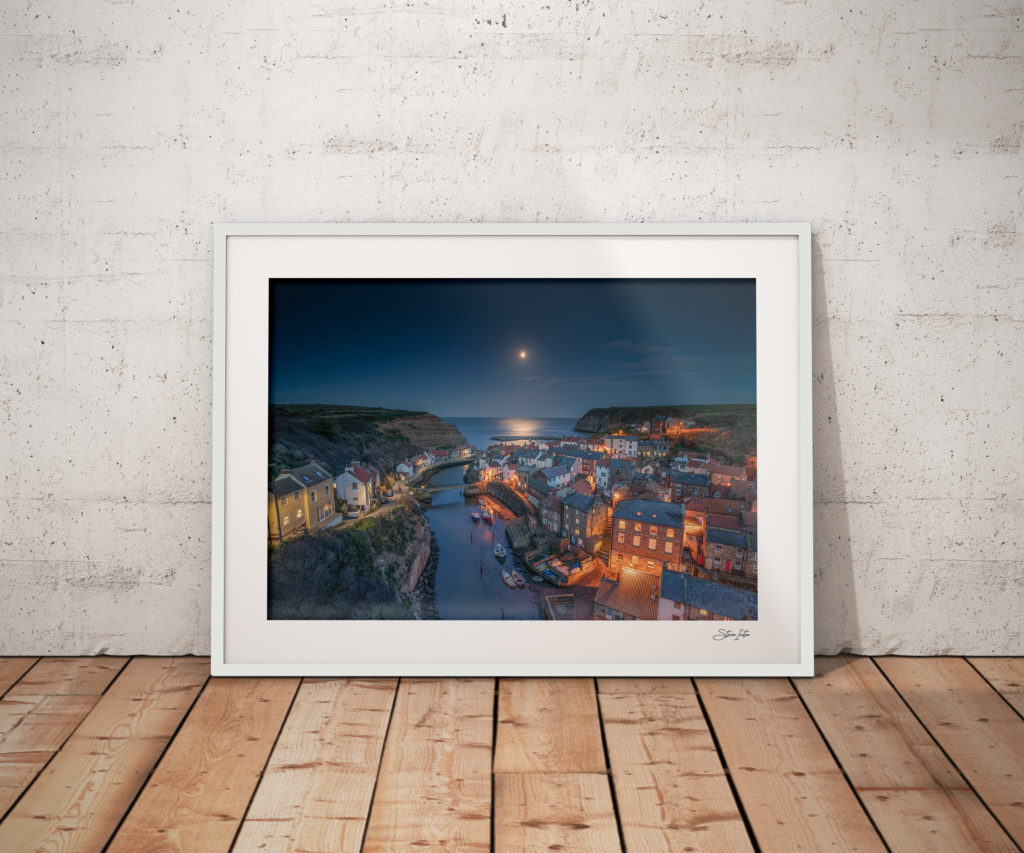 Staithes-moonlight-white